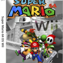 Super Mario 64 DS Wii Box Art Cover