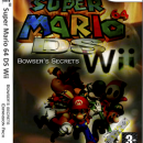Super Mario 64 DS Wii Bowser's Secrets Expansion Box Art Cover