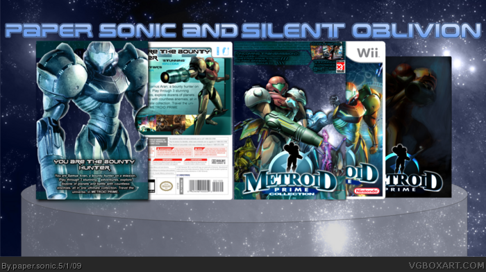 Metroid Prime Collection box art cover