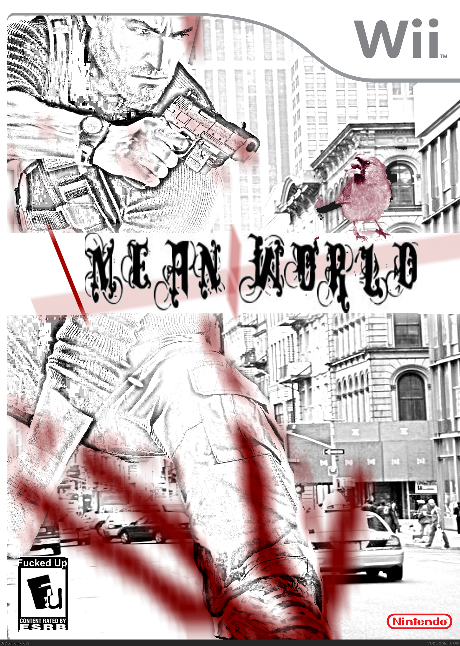 Mean World box cover