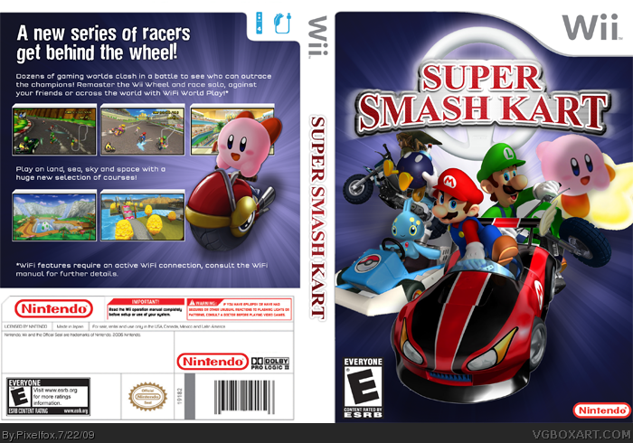 Super Smash Kart box cover