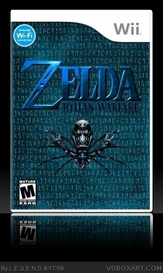Zelda - Hylian Warfare box art cover