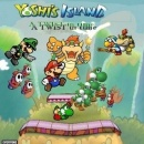 Yoshi's Island A twist in time Box Art Cover