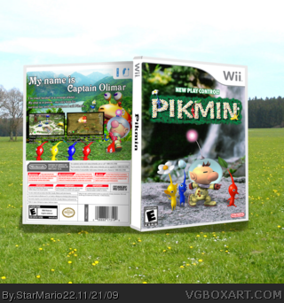 New Play Control! Pikmin box art cover