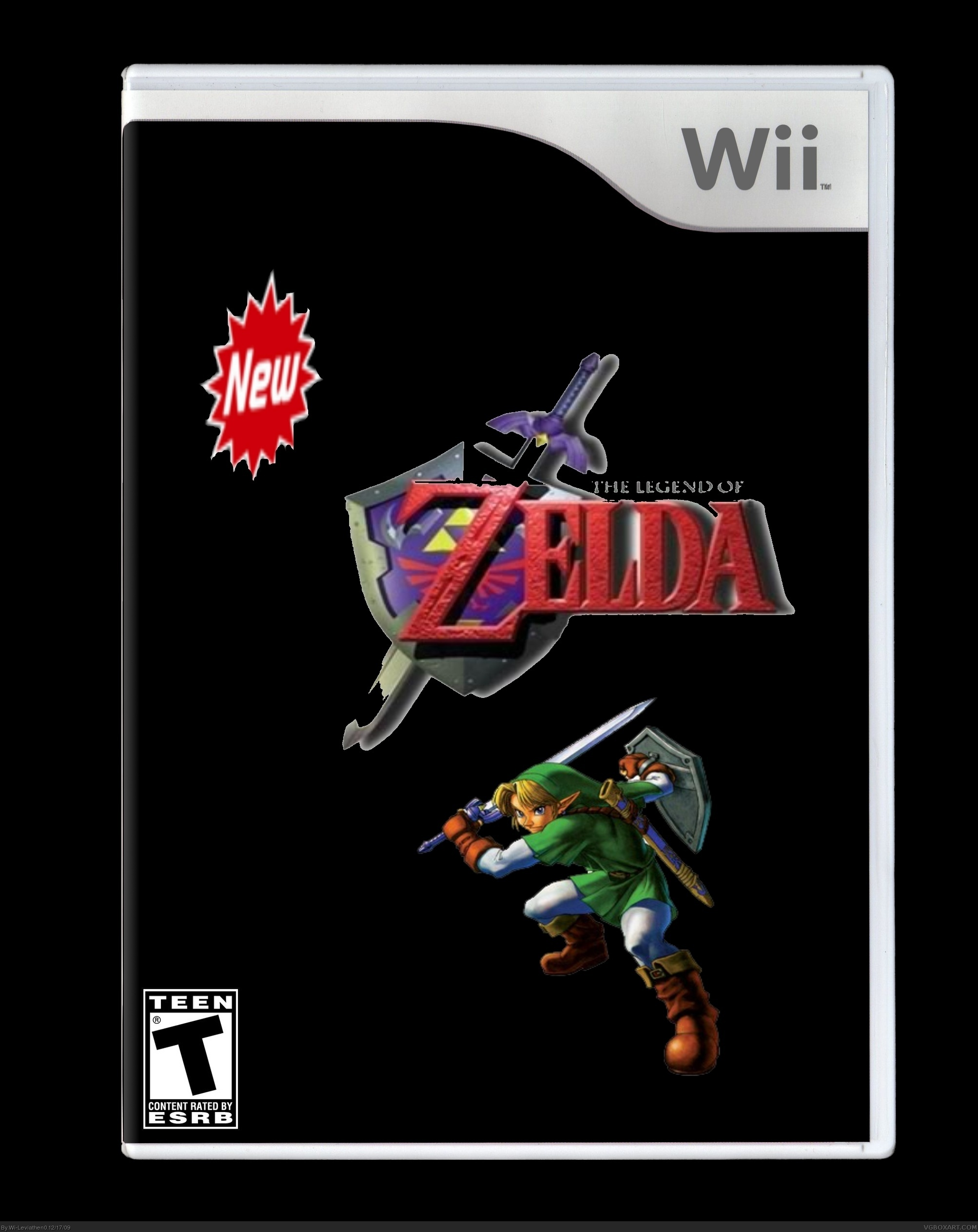 New Legend of Zelda box cover