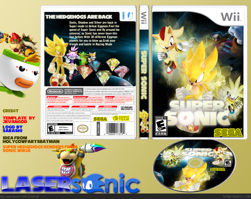 Super Sonic box cover