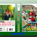 Mario Power Tennis Box Art Cover
