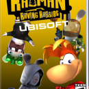 Rayman Raving Rabbids: Ubisoft Box Art Cover