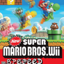 New Super Mario Bros Wii Speed Box Art Cover