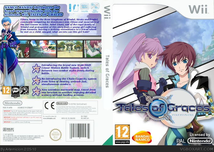 Tales of Graces box art cover