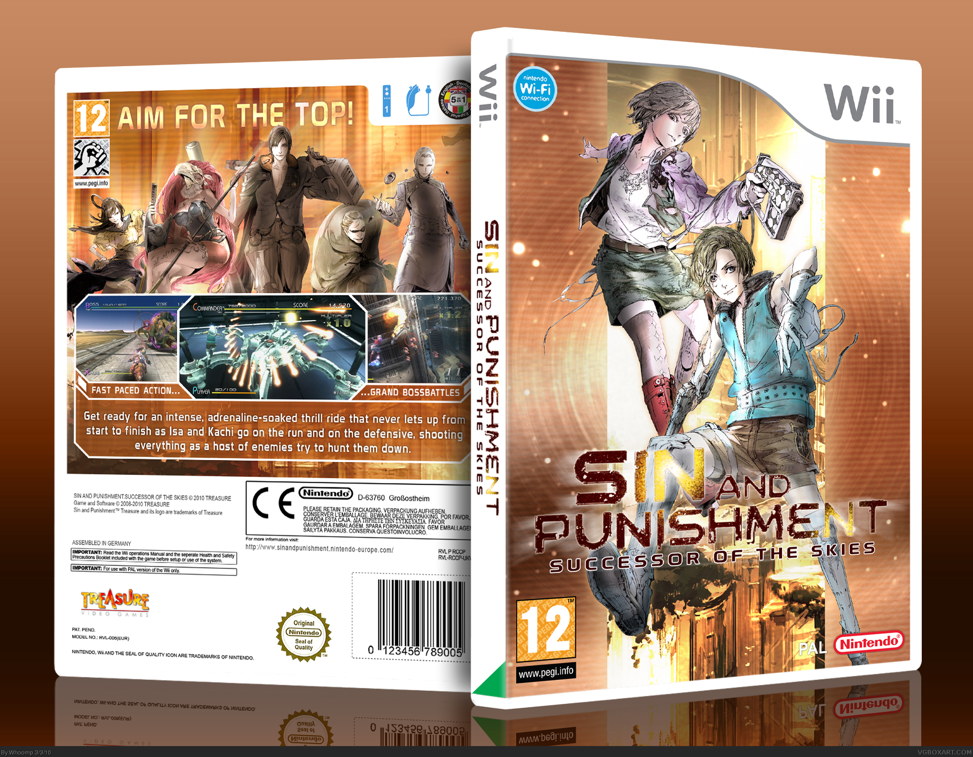 Sin and Punishment: Successor of the Skies box cover