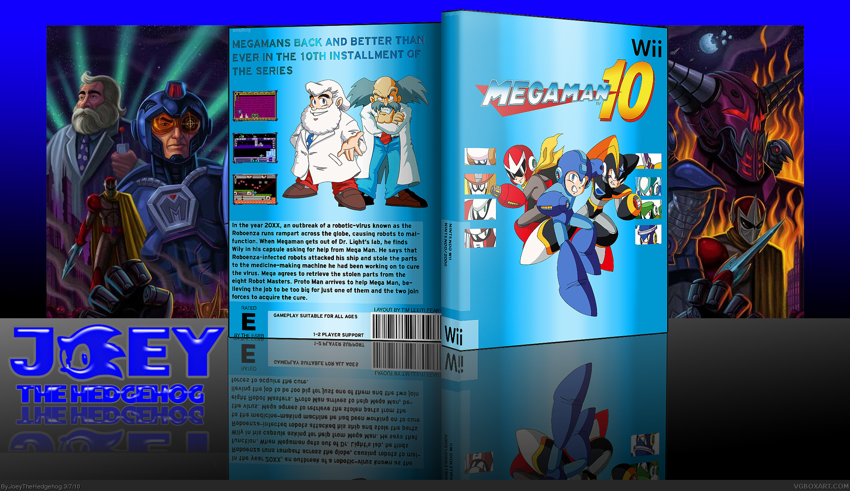 Mega Man 10 box cover