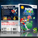 Paper Mario Galaxy Box Art Cover