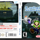 Luigi's mansion Wii Box Art Cover
