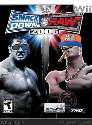 WWE Smackdown vs RAW 2006 box cover