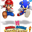 mario and sonic at the oplympic games 2 Box Art Cover