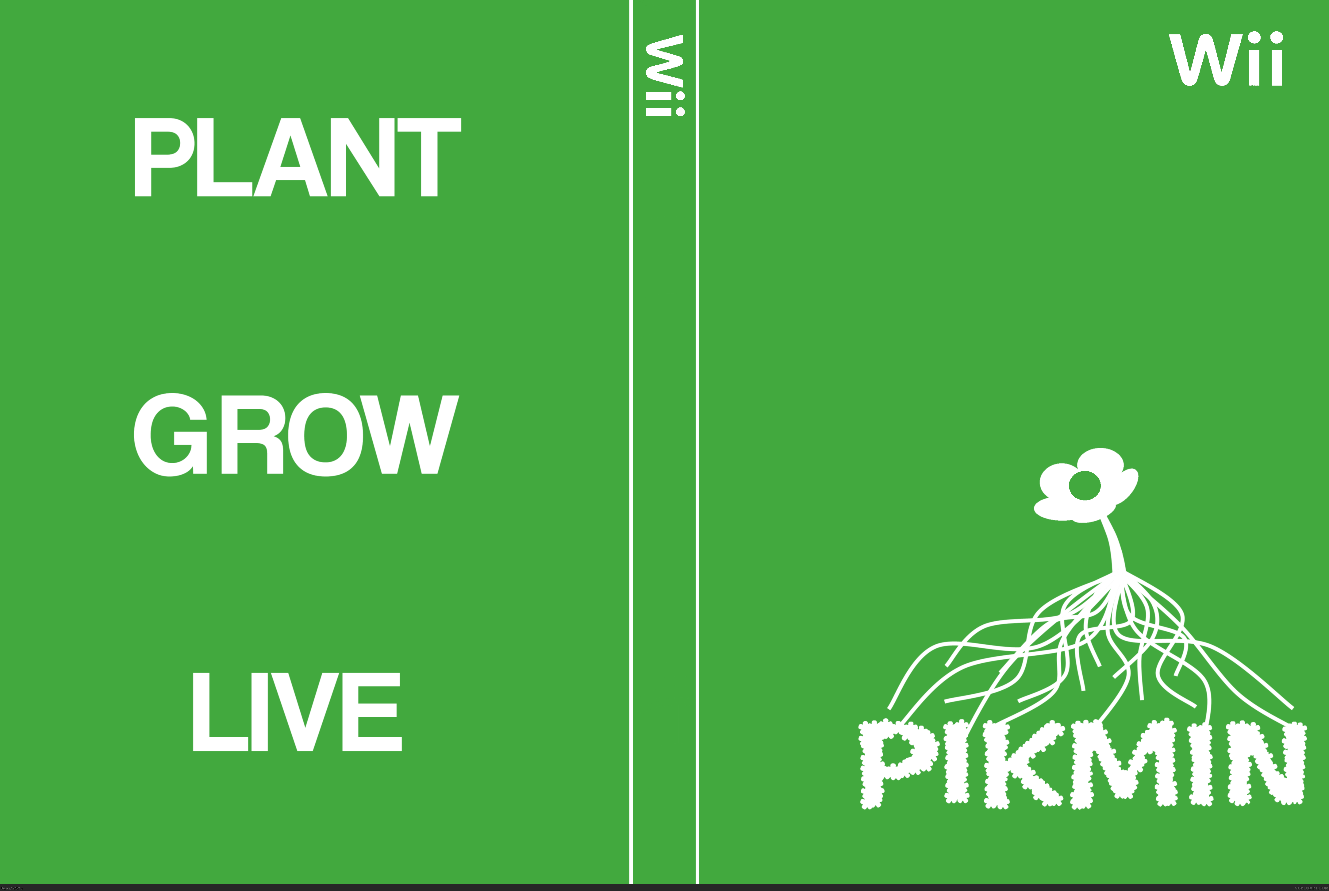 Pikmin box cover