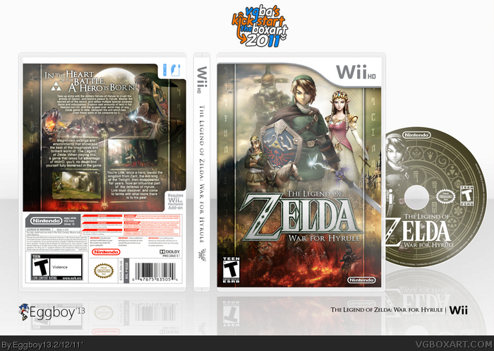 The Legend of Zelda: War for Hyrule box art cover