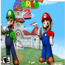 Super Mario 64 2 Box Art Cover