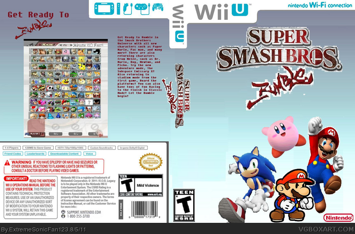 Super Smash Bros. Rumble box art cover