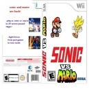 Sonic vs. Mario Box Art Cover