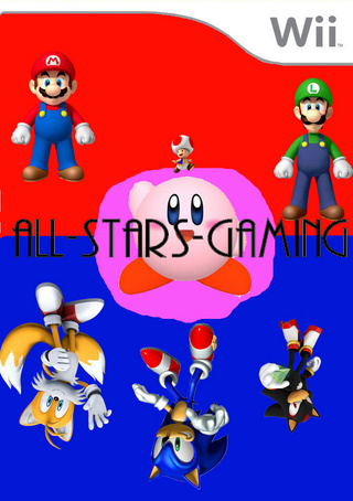 All-Stars-Gaming box art cover