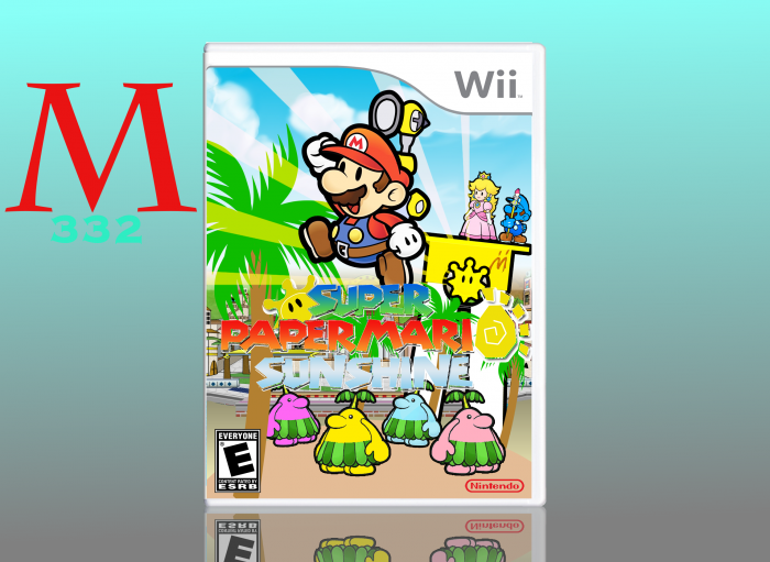 Super Paper Mario Sunshine box art cover