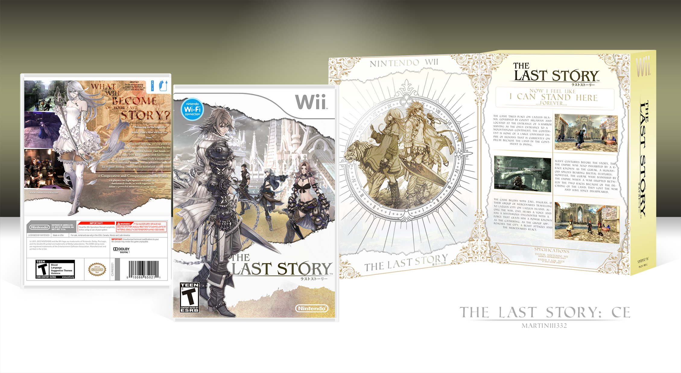 The Last Story box cover