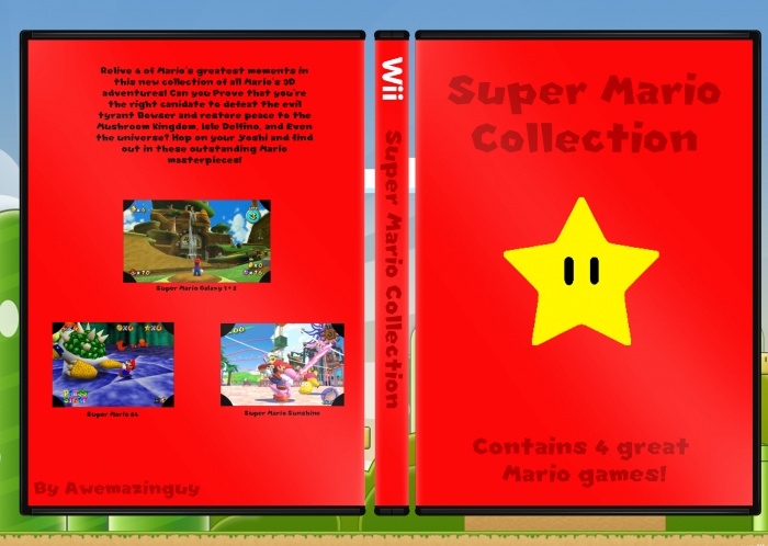 Super Mario Collection box art cover