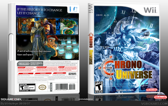 Chrono Universe box art cover