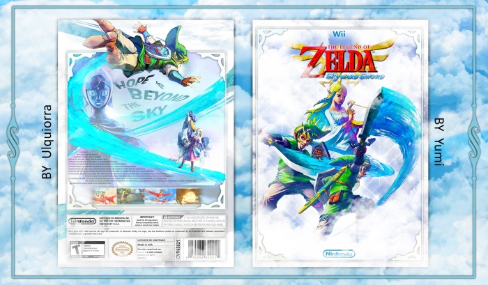 The Legend of Zelda: Skyward Sword box art cover