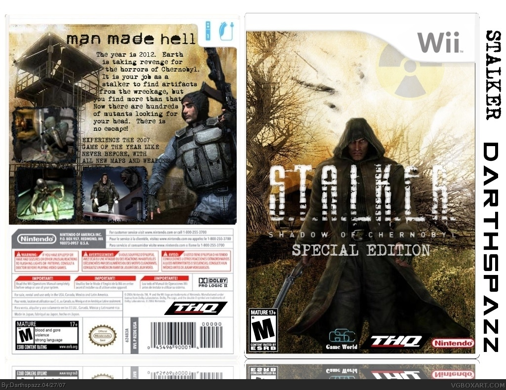 S.T.A.L.K.E.R.: Shadow of Chernobyl Collector's Edition box cover