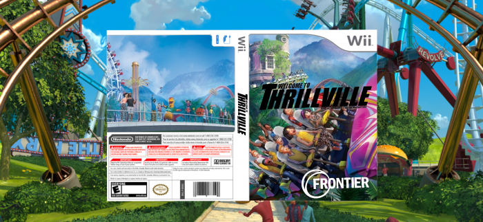 Thrillville: Off The Rail box art cover