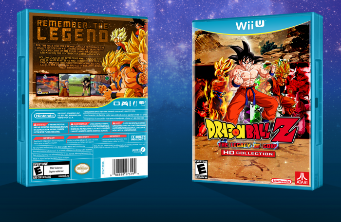 Dragon Ball Z: The Legacy of Goku - HD box art cover