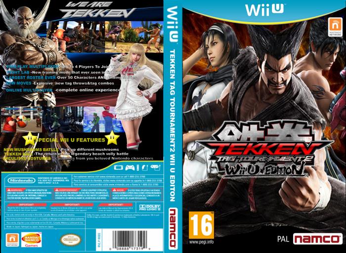 Tekken Tag Tournament 2 Wii U Edition Wii U Box Art Cover By Liopo2
