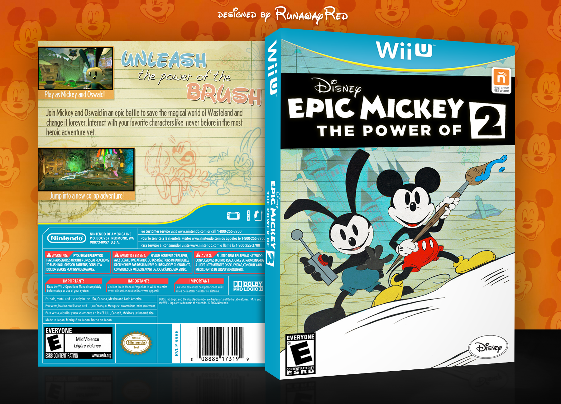 Epic Mickey 2: The Power of Two box cover