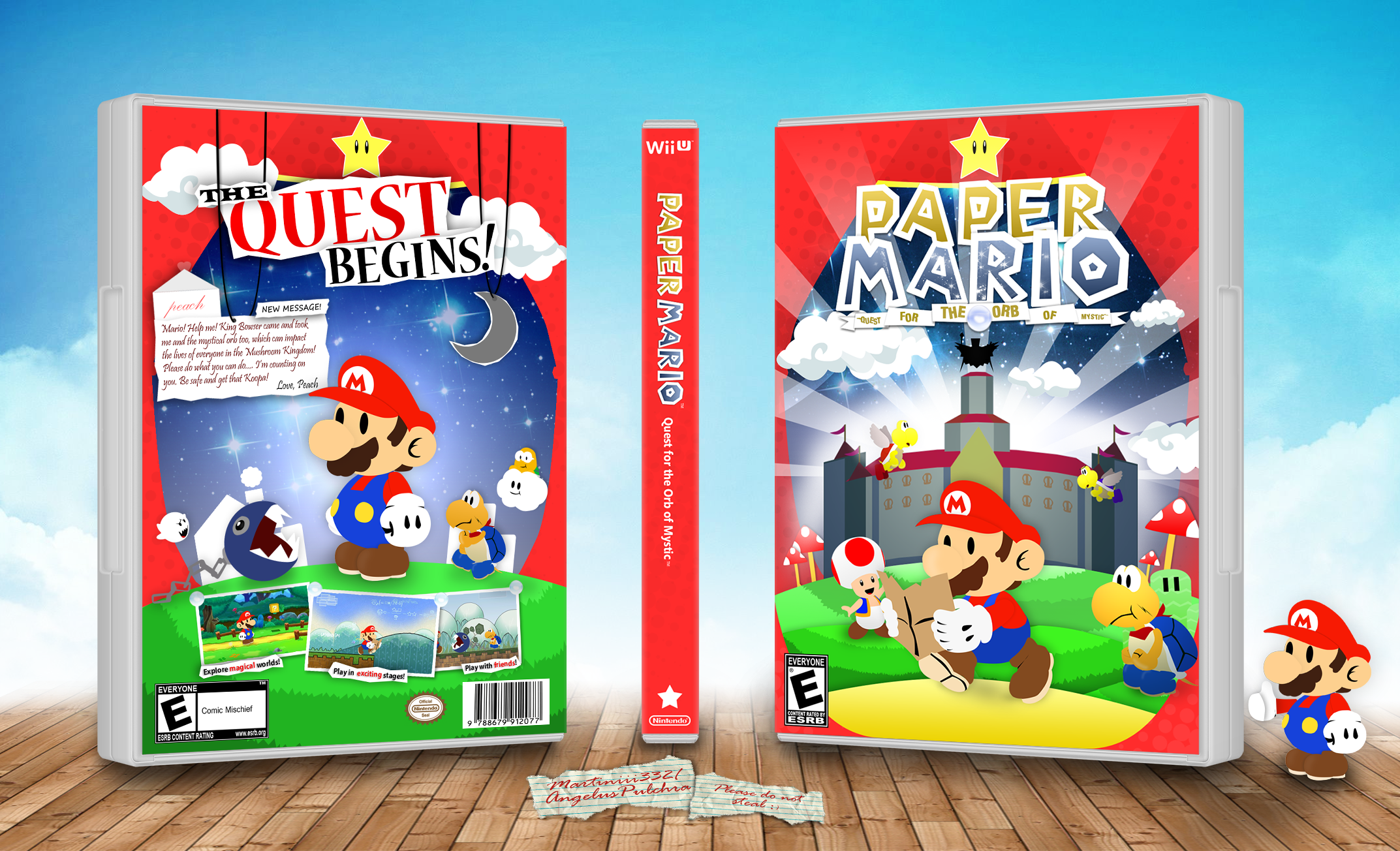 Paper Mario: Quest for the Orb of Mystic box cover