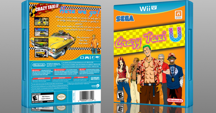 Crazy Taxi U box art cover