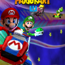 Mario Kart U Box Art Cover