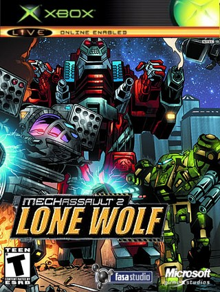 Mechassult 2 : Lone Wolf box cover