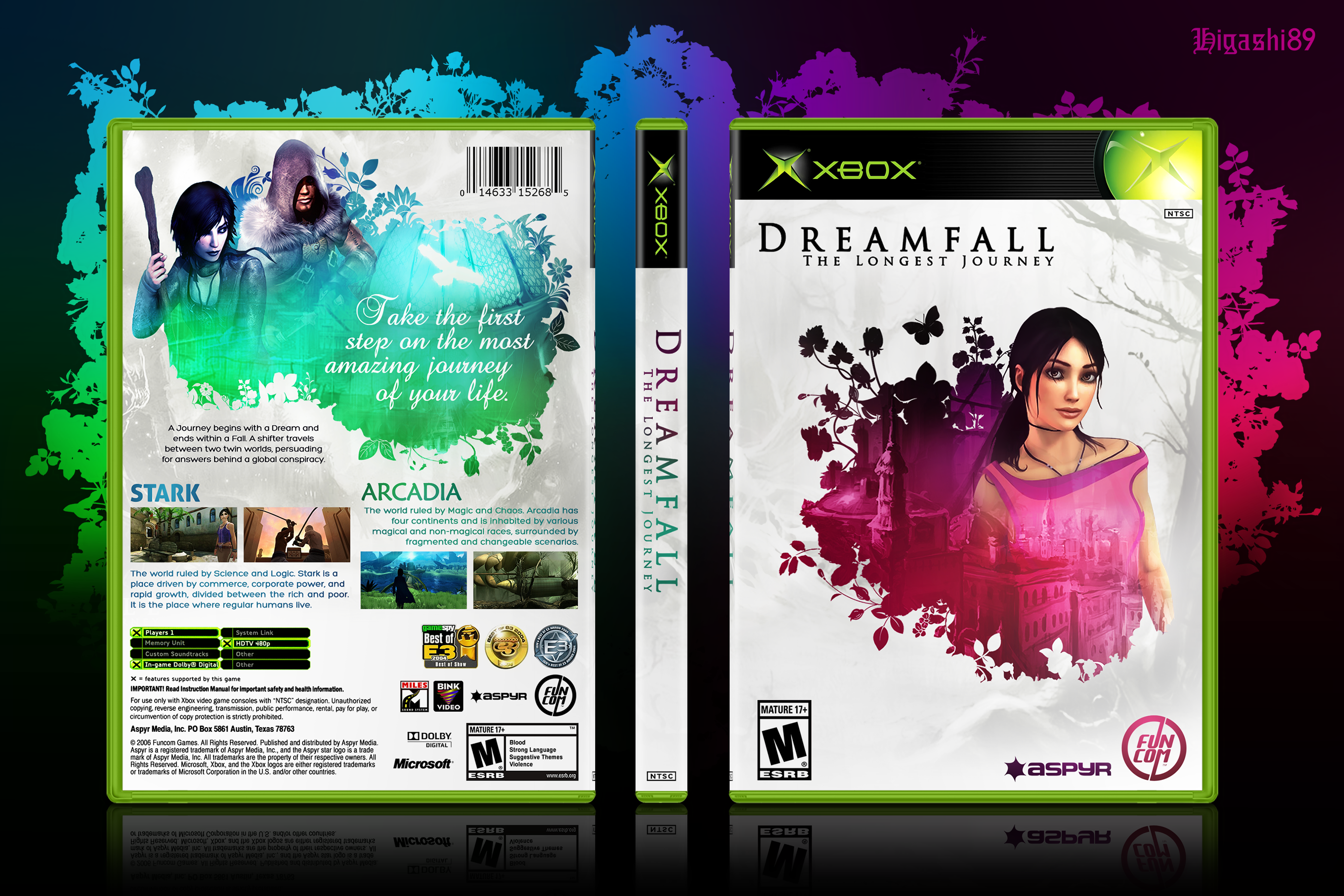 Dreamfall: The Longest Journey box cover