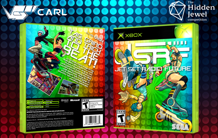 Jet Set Radio Future box art cover