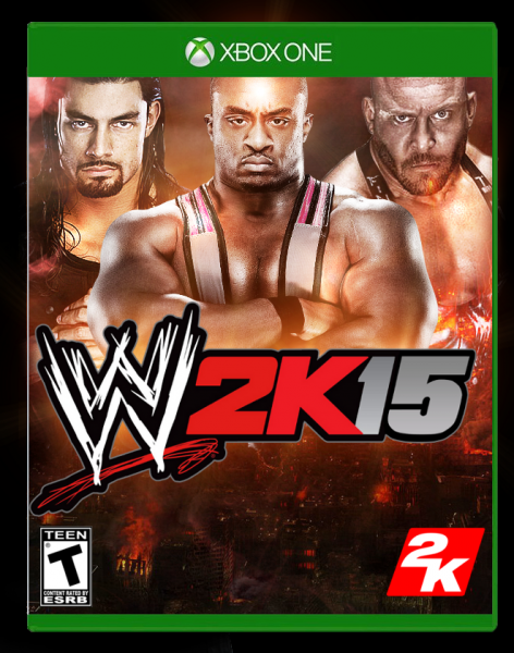 WWE 2K15 box cover