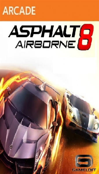 Asphalt 8 Airborne box cover