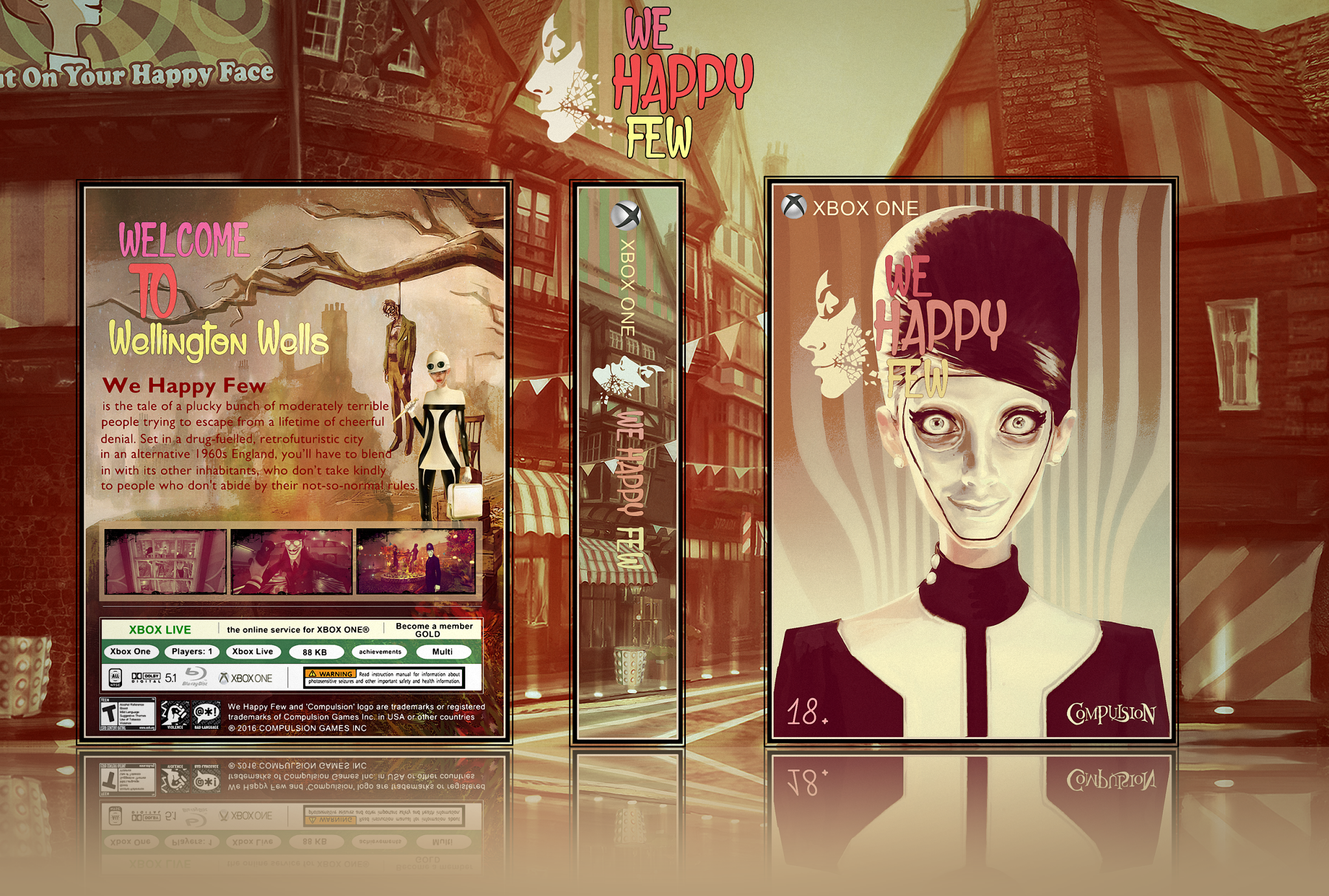 We Happy Few box cover