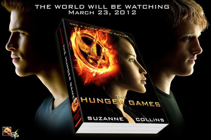 The Hunger Games box art cover