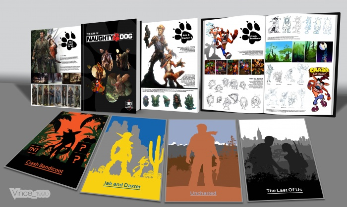 The Art Of Naughty Dog box art cover